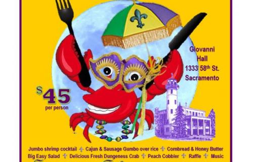 Crab Feed Mardi Gras 2019